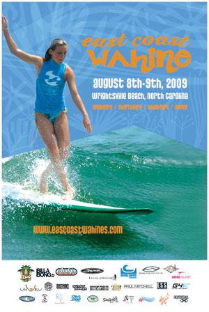 2009 East Coast Wahine Poster